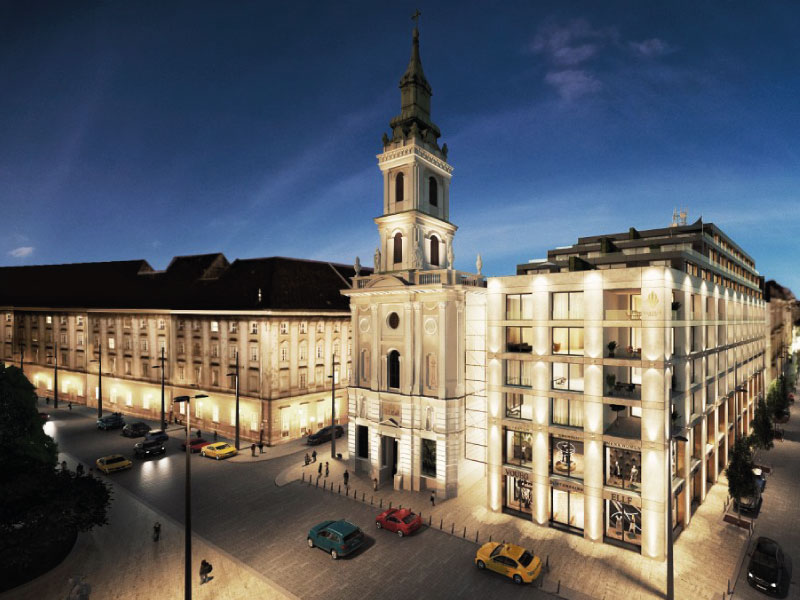 72 lakásos társasház Budapest