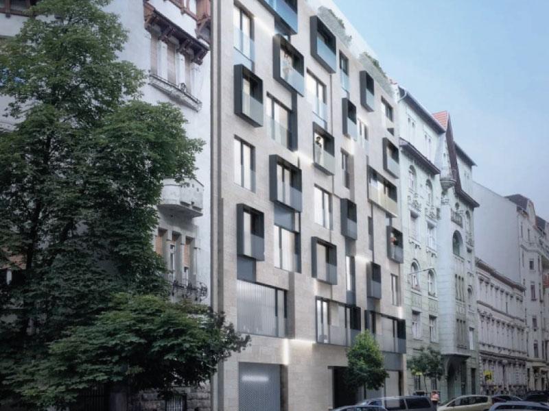 59 lakásos társasház Budapest