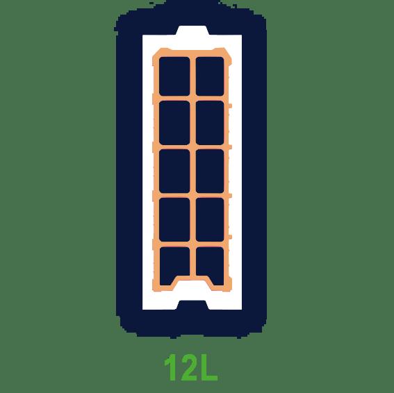Laterbloc 12