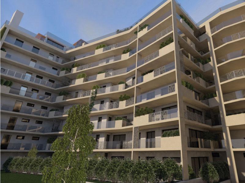 161 lakásos társasház Budapest
