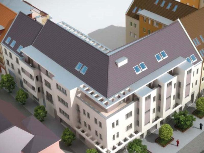 30 lakásos társasház Budapest